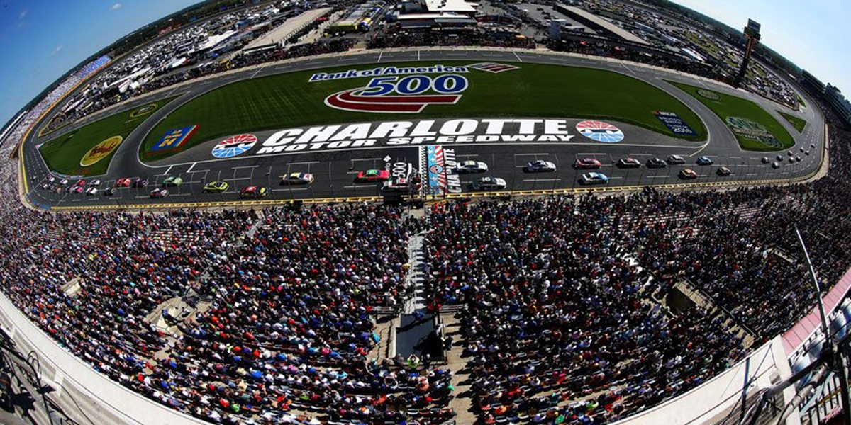 Adelantado el horario de la bank of america 500 para el for Charlotte motor speedway campground