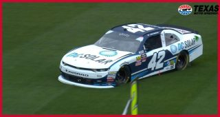 Jamie McMurray spins early in Texas Xfinity race
