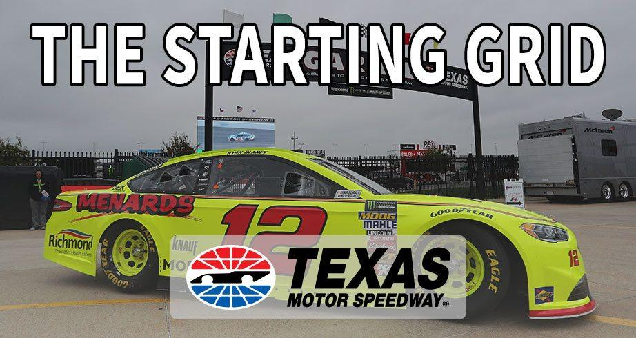 The Starting Grid: Texas Motor Speedway