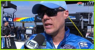 Harvick talks about 'pathetic' day on pit road