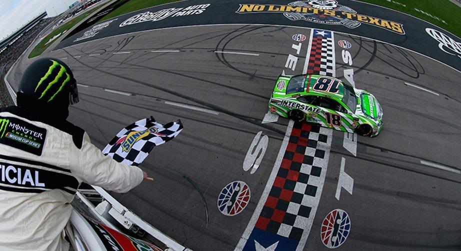 Kyle Busch survives Texas, earns 44th Cup win