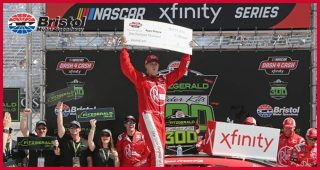 Race recap: Ryan Preece emerges from wreck-filled race for Bristol win