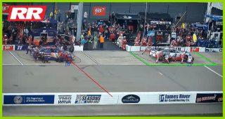 No. 4 team makes costly pit stop mistake