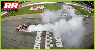Busch burns it down for third consecutive week