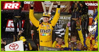 Three's company: Kyle Busch wins at Richmond