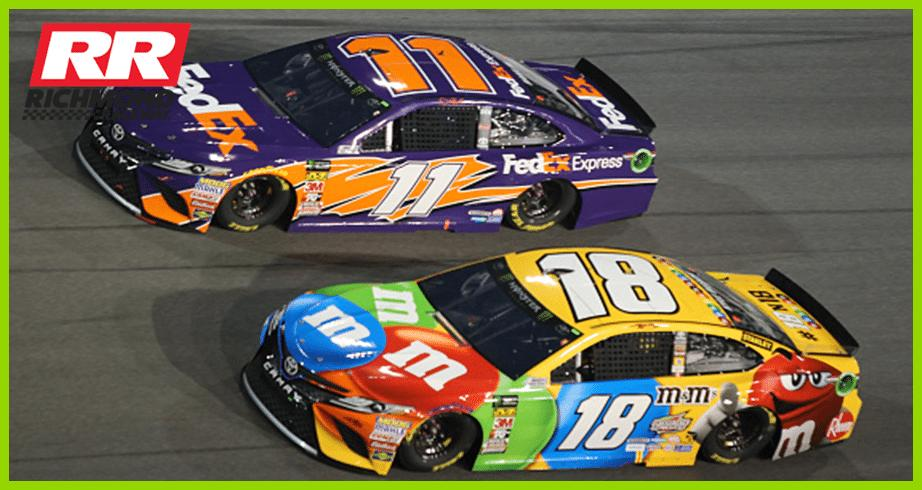 Hamlin on Kyle Busch: Same guy, just more mature