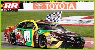 Kyle Busch: Winning Powerball might be easier than 'Dega