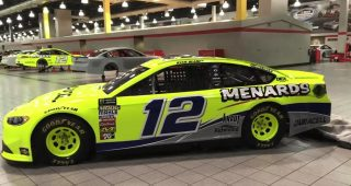 Ryan Blaney reveals Darlington throwback tribute to his dad