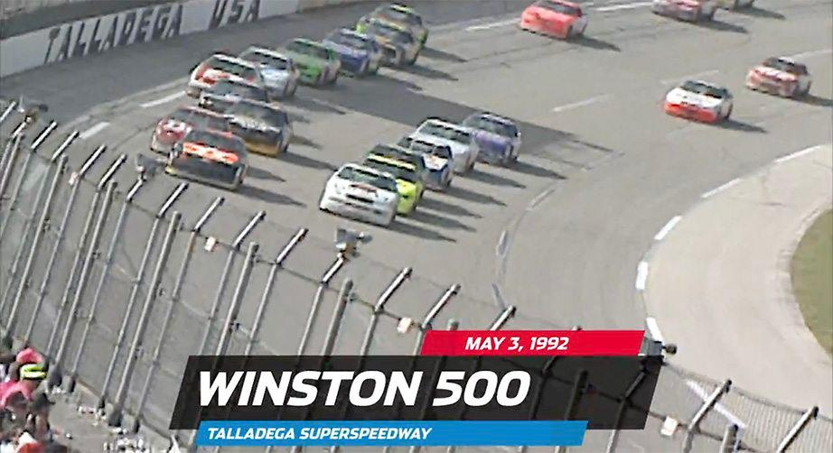 Davey Allison's 1992 win at Talladega Superspeedway