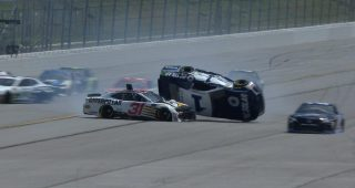 McMurray spins, goes airborne in 'Big One'