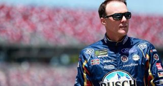 Harvick prefers starting up front at Talladega