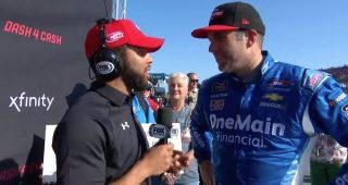 Sadler overcomes Talladega obstacles, secures Dash 4 Cash prize