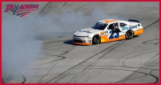 Gallagher celebrates first Xfinity Series win