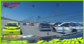 In-car: Ride with Truex Jr. during his Lap 71 wreck