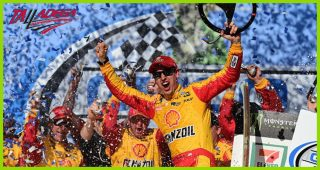 Logano: 'Don't have to worry about the playoffs, we're in'