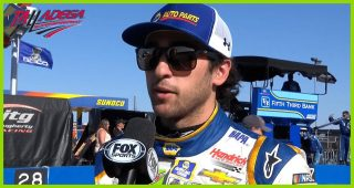Elliott puzzled by lack of late-race aggression