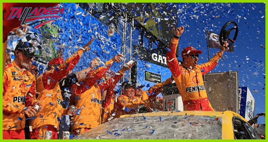 Race recap: Logano springs to victory at Talladega