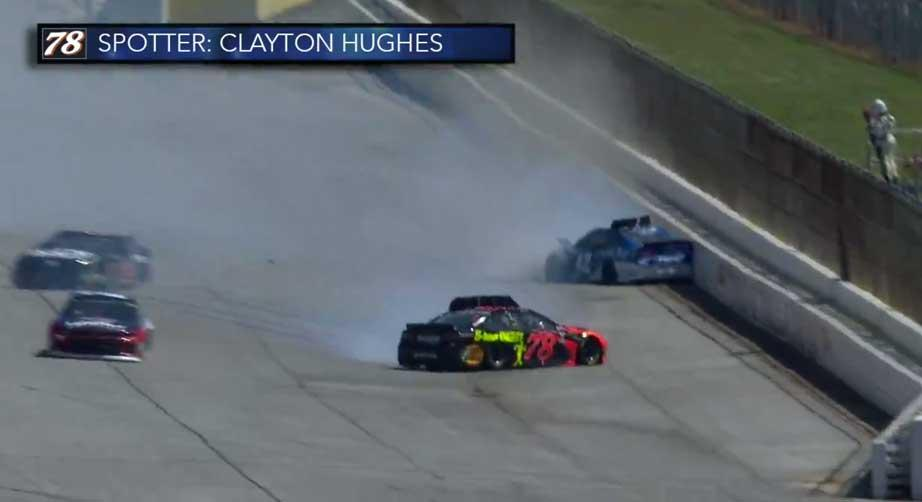 Scanner Sounds: 'Bleeping' 4 car, more from Talladega