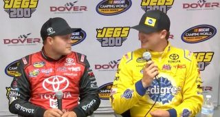 Gilliland: 'Always tough' racing against father