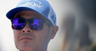 Larson happy with steps No. 42 team taking on new Chevrolet body