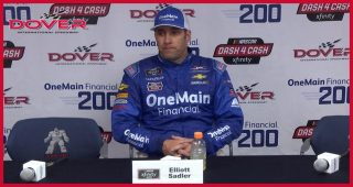 Elliott Sadler on near-victory at Dover: 'I'm heartbroken'