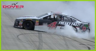 Kevin Harvick's monster burnout at Dover
