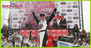 Race Recap: Harvick outlasts rain, teammate Bowyer for fourth '18 win
