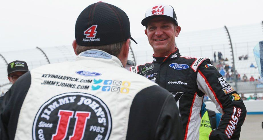 Kevin Harvick on Clint Bowyer: 'We're like brothers'