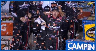 Gragson breathes sign of relief in Victory Lane at Kansas