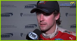 Blaney takes blame for contact with Larson