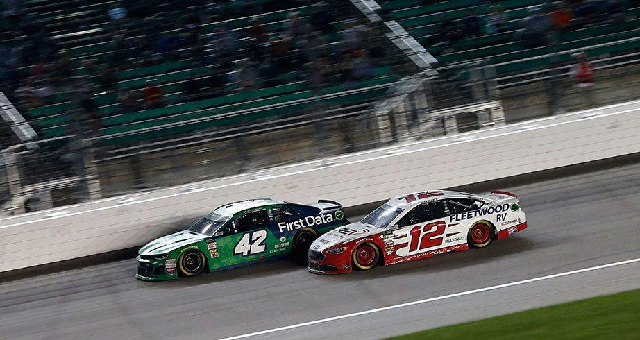 All Access: Blaney and Larson make contact at Kansas