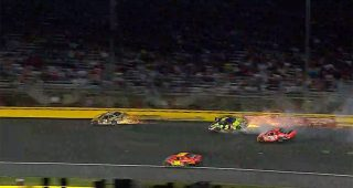 From The Vault: Busch brothers crash in 2007 All-Star Race