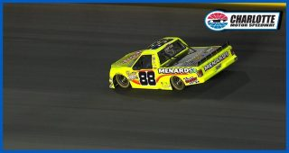 Crafton gets colorful on the radio during Charlotte race