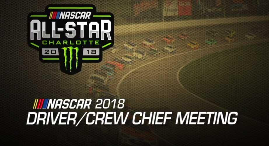 Driver meeting video: All-Star Race