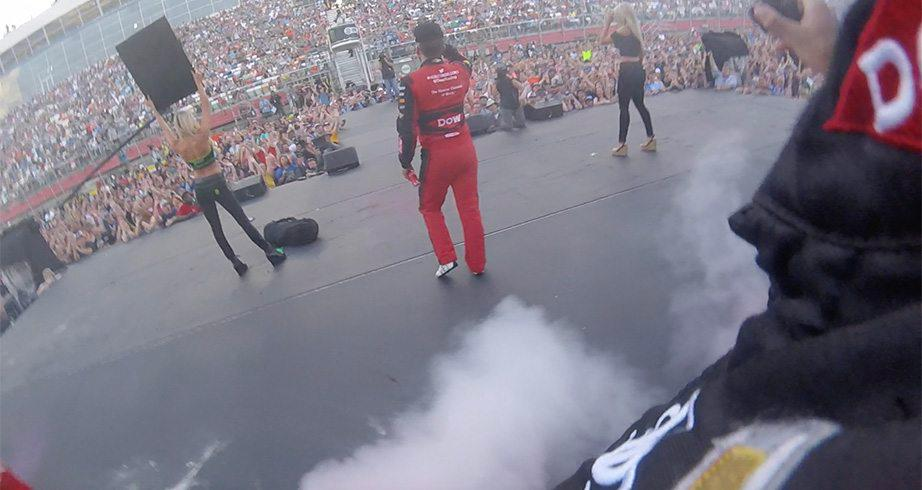 Austin Dillon electrifies in All-Star Race intros