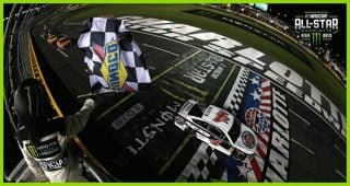 Harvick holds off the field for All-Star Race win