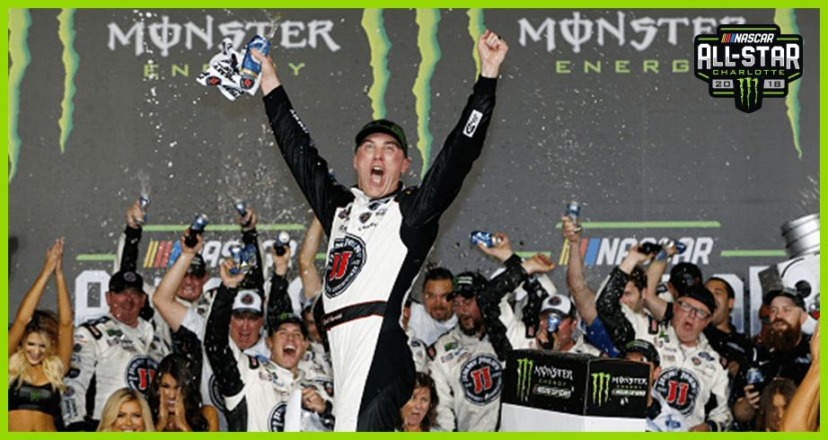 Harvick has $1 million reasons to celebrate