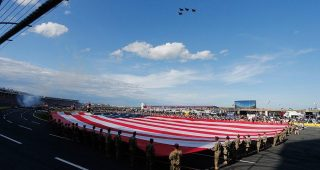 NASCAR Salutes: Drivers thank military members