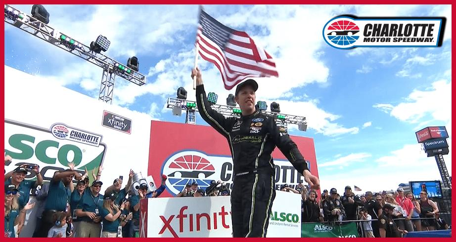 Keselowski celebrates second Xfinity win of 2018