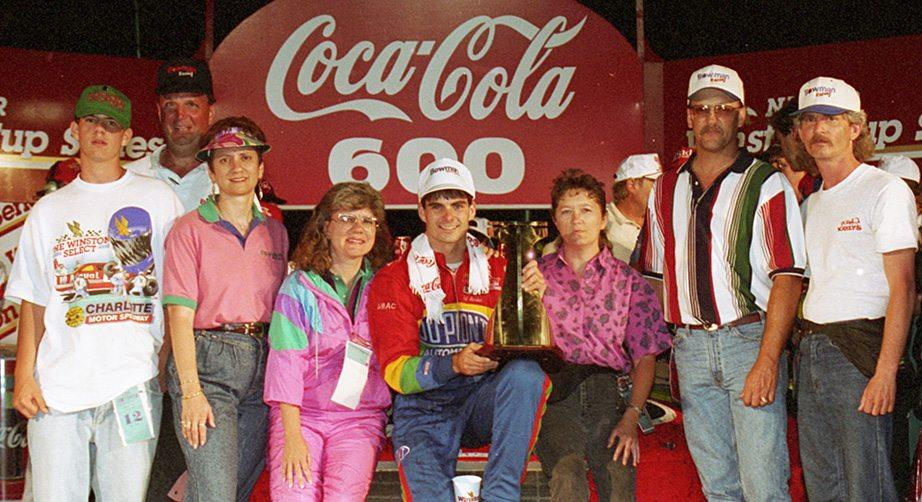 First-time winners in the Coca-Cola 600
