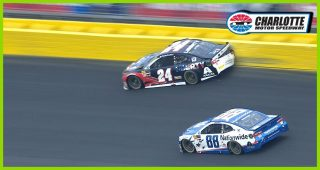 Big hit early in Stage 2 for William Byron