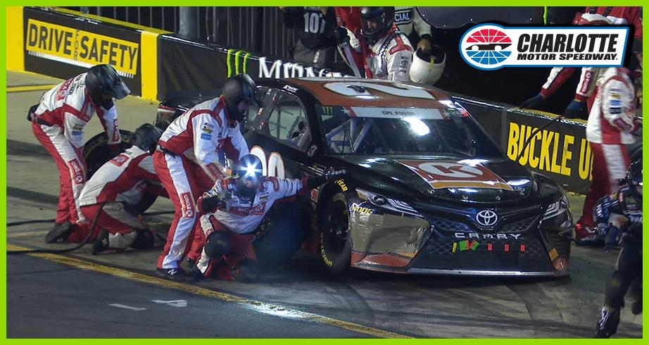 Erik Jones loses spots after No. 95 runs over airhose