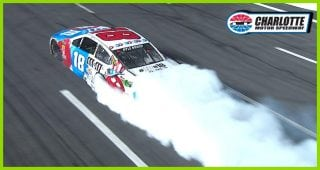 'Candy Man' burns it down after dominating Coca-Cola 600