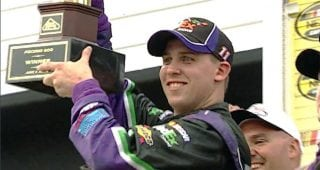 From the Vault: Denny Hamlin sweeps Pocono in 2006 for first wins
