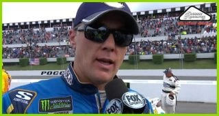Harvick: 'We lost control of the race on pit road'