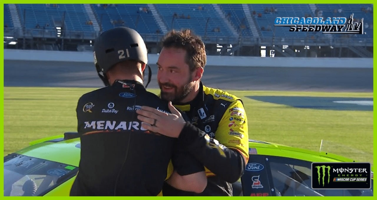 Paul Menard: 'We have a lot of momentum going'