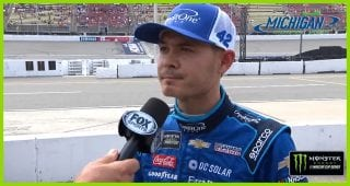 Kyle Larson to start 26th, Michigan win streak on the line