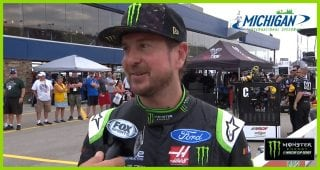 Kurt Busch: 'To just the haul the mail, I love that feeling'