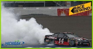 Race Rewind: Twice as nice! Clint Bowyer wins at Michigan