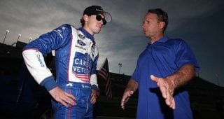 Drivers dish on dad's impact, personalities